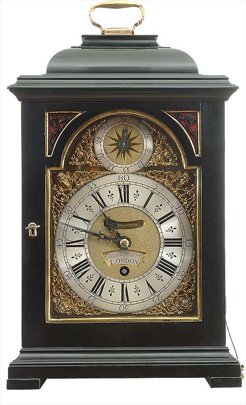 Bracket Clock David Hubert Of London Antique Clock Sales