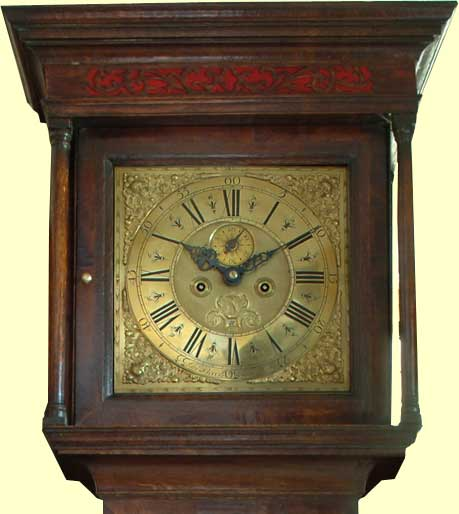 P A Oxley Antique Long Case Clocks  Specialising in